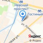 Хургада на карте Санкт-Петербурга
