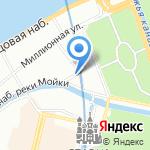 Совкомфлот на карте Санкт-Петербурга