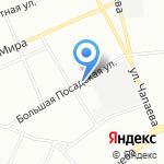 Апарт-отель на Певческом на карте Санкт-Петербурга