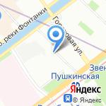 On-line на карте Санкт-Петербурга