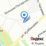 Астери на карте Санкт-Петербурга