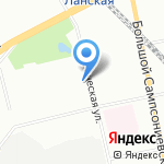 Трансмиссии и моторы на карте Санкт-Петербурга