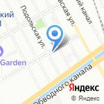 Завод Ленком на карте Санкт-Петербурга