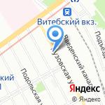 КНС Нева на карте Санкт-Петербурга