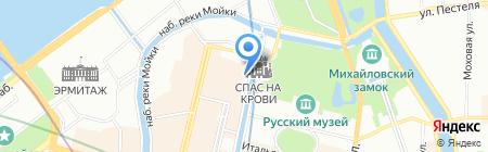 Юлли-Турс на карте Санкт-Петербурга