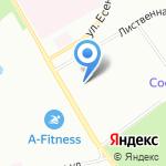 Август Топфер на карте Санкт-Петербурга