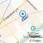 Магазин тканей на карте Санкт-Петербурга