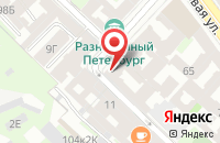 Схема проезда до компании Море в Санкт-Петербурге