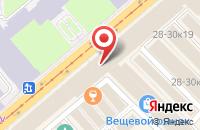 Схема проезда до компании Прямая Линия в Санкт-Петербурге