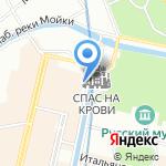 Юнион на карте Санкт-Петербурга