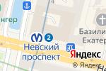 Схема проезда до компании Астэр в Санкт-Петербурге