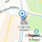 Петербургский аукцион на карте Санкт-Петербурга