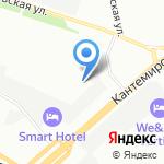 Р.М.Пак на карте Санкт-Петербурга