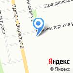 Управление заказчика по строительству и капитальному ремонту объектов инженерно-энергетического комплекса на карте Санкт-Петербурга