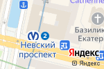 Схема проезда до компании Планета Суши в Санкт-Петербурге