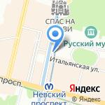 ЕвроФинансКонсалт на карте Санкт-Петербурга