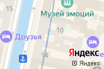 Схема проезда до компании Отоспектр в Санкт-Петербурге