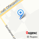 Фабрик на карте Санкт-Петербурга