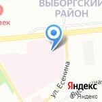 Храм Святого Великомученика Георгия на карте Санкт-Петербурга