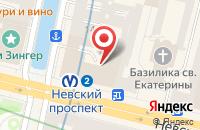 Схема проезда до компании Собака в Санкт-Петербурге