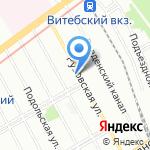 TOP-ROOM на карте Санкт-Петербурга