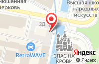 Схема проезда до компании Кортесс в Санкт-Петербурге