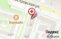 Схема проезда до компании Научно-Технический Центр «Юпитер 2» в Санкт-Петербурге