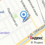 Комби на карте Санкт-Петербурга