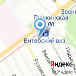 Магазин часов и кожгалантереи на карте Санкт-Петербурга