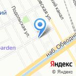 Литрбол на карте Санкт-Петербурга