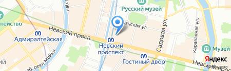 Нева-Проект на карте Санкт-Петербурга