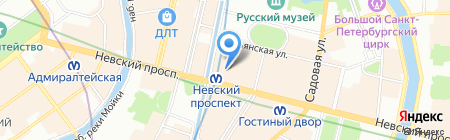 Астэр на карте Санкт-Петербурга