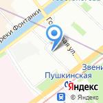 Точка Отрыва на карте Санкт-Петербурга