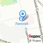 Морозофф на карте Санкт-Петербурга