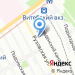 Центр по противодействию экстремизму на карте Санкт-Петербурга