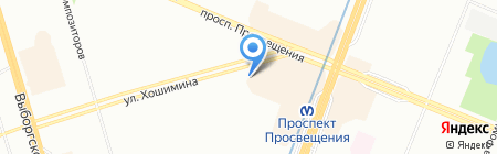 WinArt на карте Санкт-Петербурга