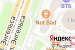Схема проезда до компании БухГуру в Санкт-Петербурге