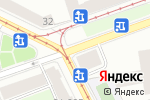 Схема проезда до компании Меркурий в Санкт-Петербурге