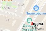 Схема проезда до компании Солнцетур в Санкт-Петербурге