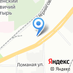 МотоДрайв на карте Санкт-Петербурга