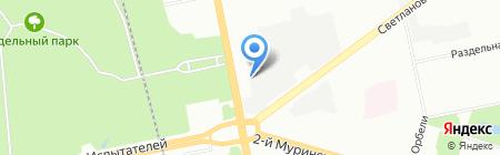 НОРД ВЕСТ АВТО на карте Санкт-Петербурга