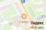 Схема проезда до компании Атлант в Санкт-Петербурге