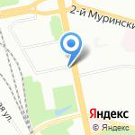 Фармакор на карте Санкт-Петербурга