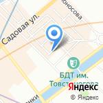 Луна на карте Санкт-Петербурга
