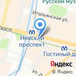 Российский ювелирный дом на карте Санкт-Петербурга