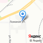 Боганни-Бэгс на карте Санкт-Петербурга