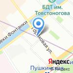 Мелек на карте Санкт-Петербурга