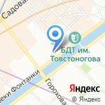 UltraCom на карте Санкт-Петербурга