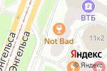 Схема проезда до компании Твоя оптика в Санкт-Петербурге