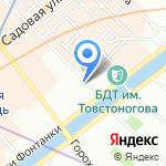 Магазин оптово-розничной торговли на карте Санкт-Петербурга